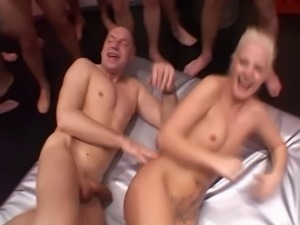 gangbang and cum games with german woman 2
