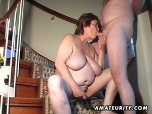 Chubby amateur wife toys and sucks and gets fucked free