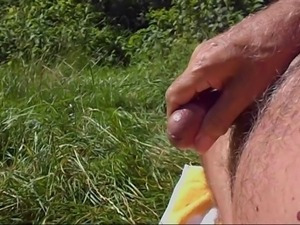Cum outdoor compilation