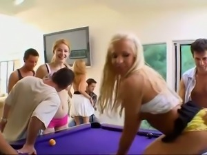 Hardcore party girls getting fucked