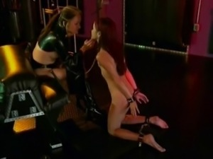 Lesbian Mistress dominate Cute Asian