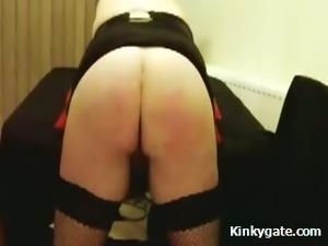 Spanking the beauty Ass my Sinful Slut Wendy