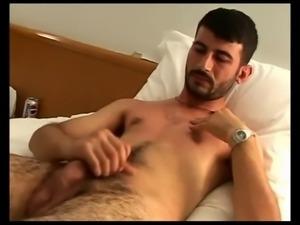 horny turkish man cumshot