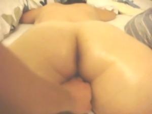 Homemade MILF massage hidden cam