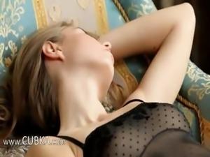 Fobridden fruit and black sexy panties