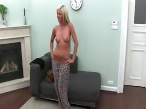 graceful babe filmed by hidden camera