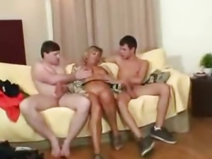 Sexy Mom Finds Two Robbers And Makes Them Bang Her mature mature porn granny...