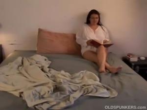 Beautiful big tits MILF Patty loves the taste of cum free