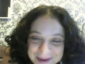 Nicole masturbating and showing me her melons on Skype
