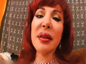 Sexy Vanessa redhead latina mom likes young c