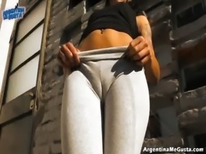 Wow! This Is One Of The Best Asses On The Net!   Cameltoe! free