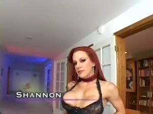 Busty redheaded milf fucking in black lingerie free