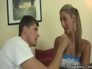 Angry BF bangs his cheating GF free