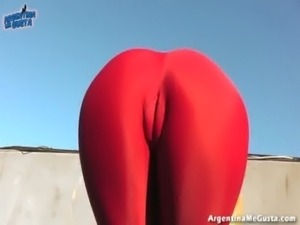 INCREDIBLE BODY TEEN! Doing Killer Stretching! Best Ass Ever free
