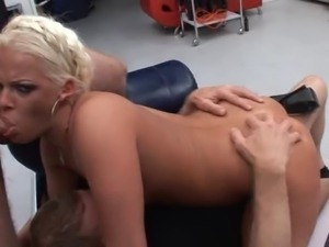 great german gangbang