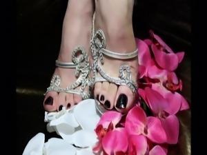 Turkish CrossDresser Buse Naz Arican - Feet Consept Album