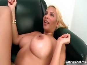 Nasty blonde slut takes her clothes off part4