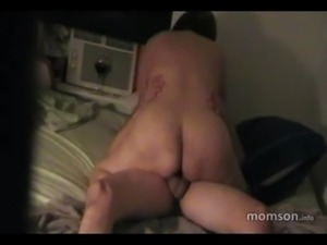chubby mom rides son REAL INCEST free