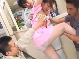 asian nurse in trouble