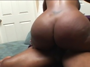 Big ass chocolate momma creampied