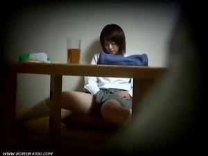 Hidden Asian Sister Masturbation
