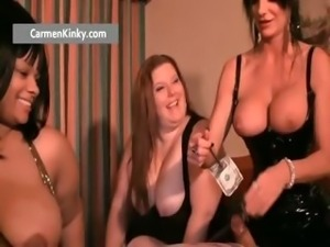 Kinky Carmen and two huge babes get part5