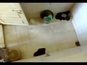 Southindian Silm Aunty's Nude Bath Scene captured by hidden cam free