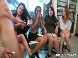 Horny hot babes go crazy sucking part3