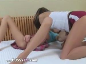 Two russian skinny ultracute girl4girl