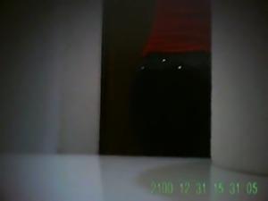 Espiando culona en el ba