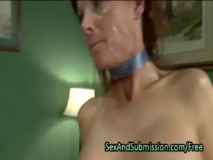 Huge breasts redhead deep throat fucked free