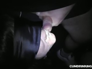 Wife Marion gets used in dark porn theater