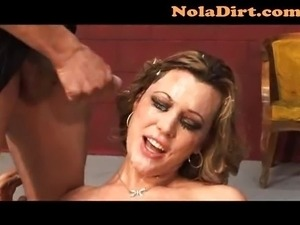 Ashley Coda Cum Covered Delight