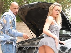 Megan Monroe and a huge black dick