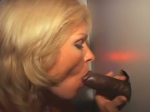 Jackie coming to you from the gloryhole