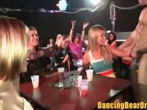 Real Women Real Horny at the Stripclub