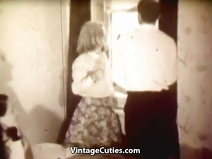 Babes Masturbating and Sucking Cock