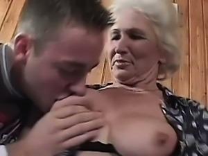 Cock starved grandma