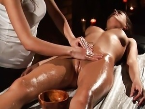 Vaginal Massage .. Stasha