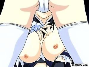 Hentai girl gives shemale head