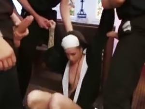 Priests Gangbang Nun