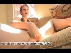 Lacie   Amateur redhead babe fisting her pussy on the couch free