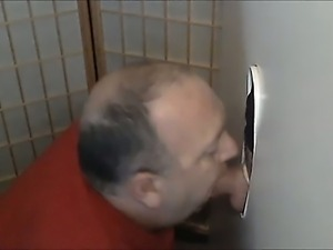 DEEP THROAT THICK UNCUT COCK AT GLORYHOLE