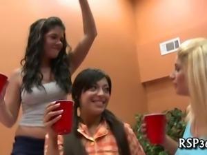 Drunk wicked teens fuck