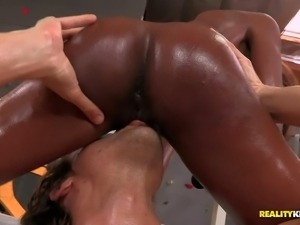 Alana Angel is a pretty chocltae skinned honey who is