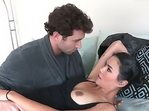 Hardcore and amazing scene with pornstars Dana Vespoli and her fucker James Dee