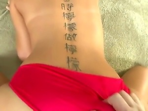 Skinny blonde hottie Riley Ried gets hard pounded by horny stud with stiff dick