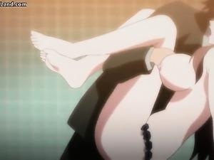 Horny anime babe Kara gets banged up the part1