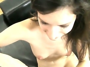 Pervert showy chick Ann Marie C is good for anything to participate in Rocco...