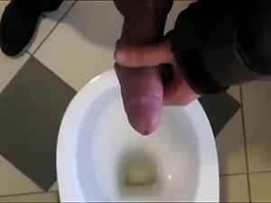 Hung Big Cock Piss And Cum